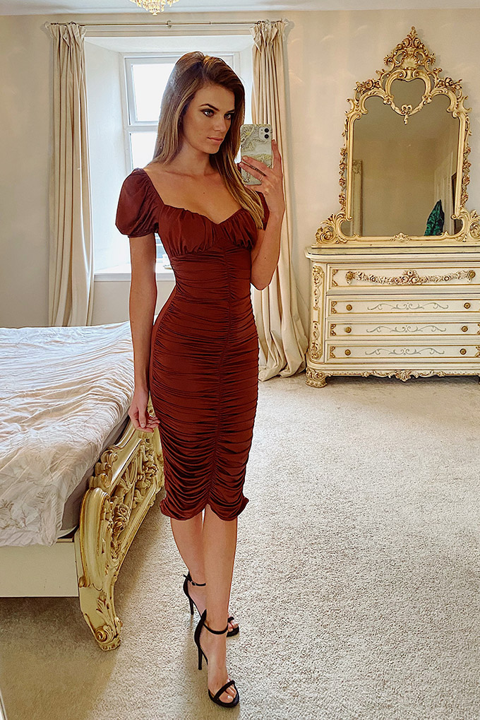 Alexia Bodycon Midi Dress