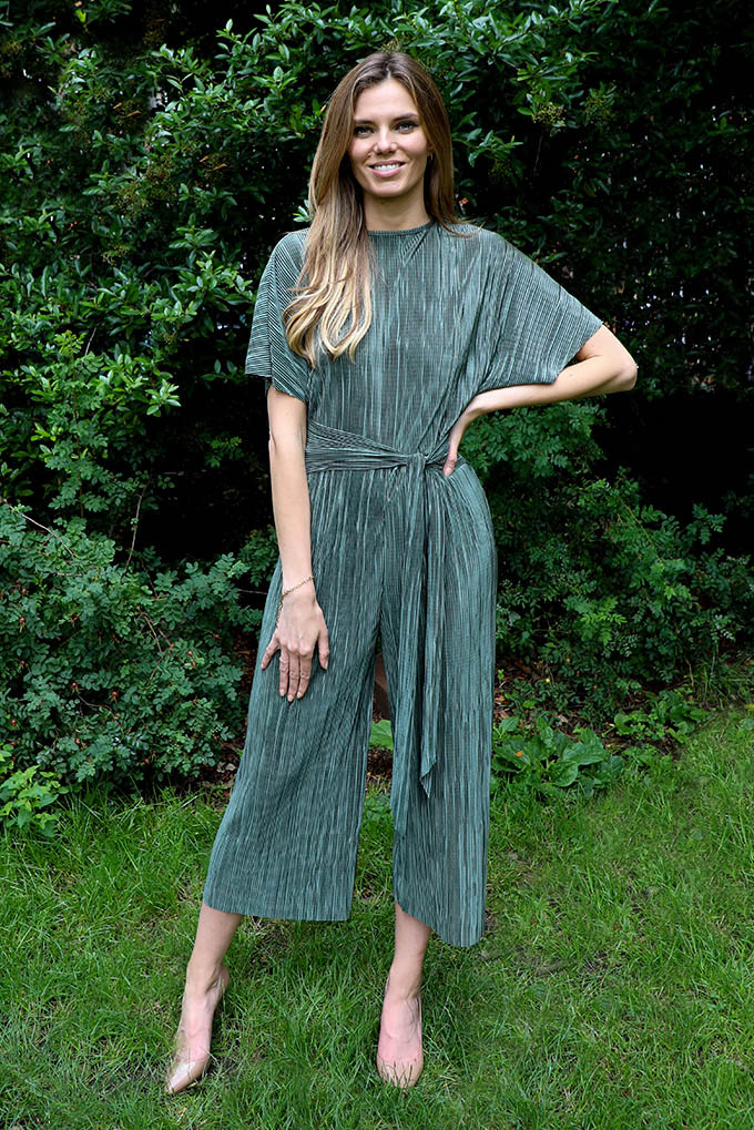 Esme Coulotte jumpsuit in forest green